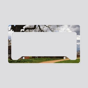 Monticello 14X6 License Plate Holder