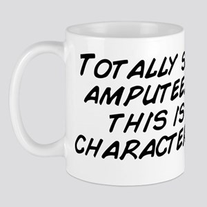 Totally saw a hot amputee. I think this Mug