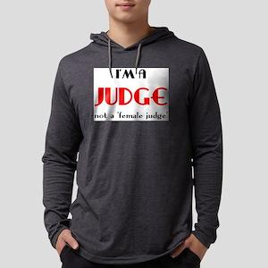 just a judge Mens Hooded Shirt