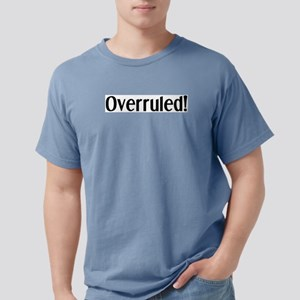 overruled Mens Comfort Colors Shirt