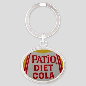 Patio Diet Cola Oval Keychain