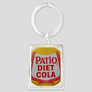 Patio Diet Cola Portrait Keychain
