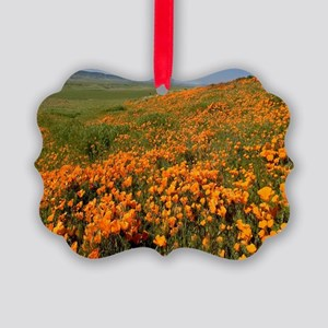 Field of Poppies Picture Ornament