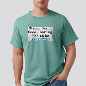 be argentine Mens Comfort Colors Shirt