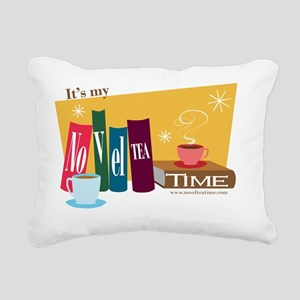 Its my NovelTEA Time Ret Rectangular Canvas Pillow