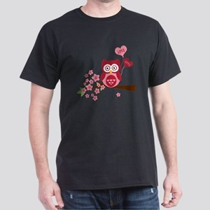 Owl LOVE Dark T-Shirt