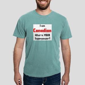 i am canadian Mens Comfort Colors Shirt