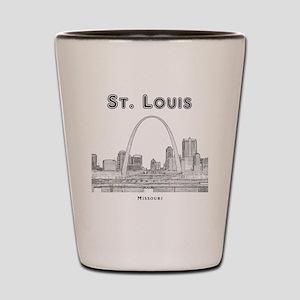 StLouis_10x10_Downtown_Black Shot Glass