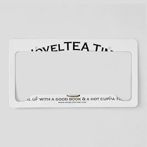 NovelTea Time Classic Curl up License Plate Holder