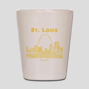 StLouis_10x10_Downtown_Yellow Shot Glass