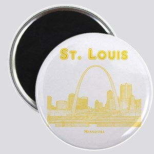StLouis_10x10_Downtown_Yellow Magnet