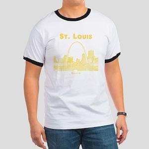 StLouis_10x10_Downtown_Yellow Ringer T