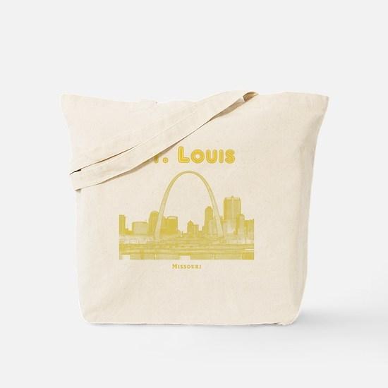StLouis_10x10_Downtown_Yellow Tote Bag