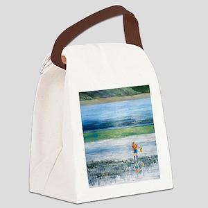 Summer-Murden-Cove-Bainbridge Canvas Lunch Bag