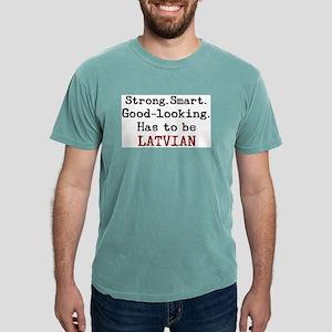 be latvian Mens Comfort Colors Shirt