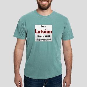 i am latvian Mens Comfort Colors Shirt
