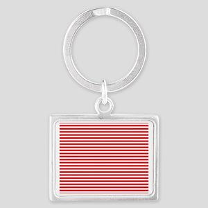 Navy Red Esprit Landscape Keychain