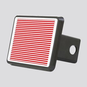 Navy Red Esprit Rectangular Hitch Cover