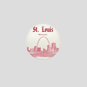 StLouis_12x12_Downtown_Red Mini Button