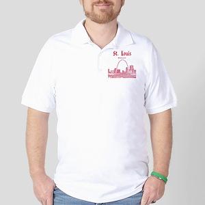 StLouis_12x12_Downtown_Red Golf Shirt