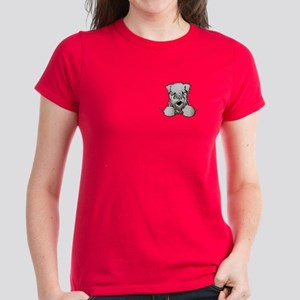 SC Wheaten Pocket Women's Dark T-Shirt