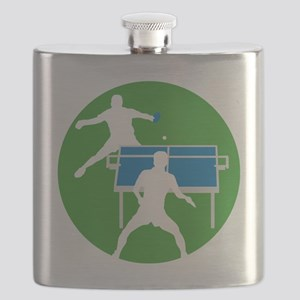 male table tennis players Flask