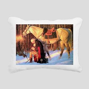 Mt. Vernon Painting of G Rectangular Canvas Pillow