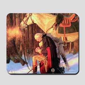 Mt. Vernon Painting of George Washington Mousepad