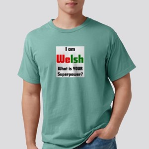i am welsh Mens Comfort Colors Shirt