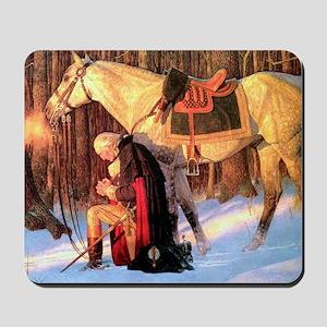 Mt. Vernon Painting of George Washington Mousepad
