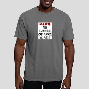 backhoe here Mens Comfort Colors Shirt