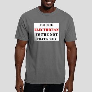 i'm the electrician Mens Comfort Colors Shirt