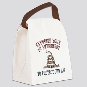 Protect Our 2nd Canvas Lunch Bag