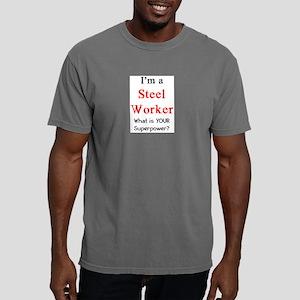 steel worker Mens Comfort Colors Shirt