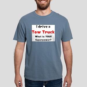 tow truck Mens Comfort Colors Shirt