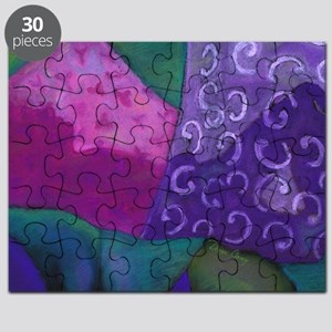 The Hideaway - Purple and Magenta Heaven Puzzle