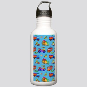 Toys - Red Trucks  Ora Stainless Water Bottle 1.0L