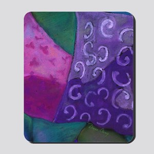 The Hideaway - Purple and Magenta Heaven Mousepad