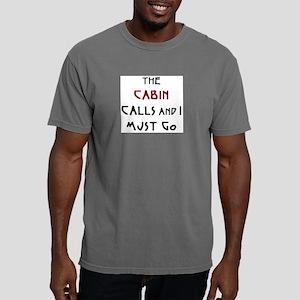 cabin calls Mens Comfort Colors Shirt