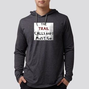 trail calls Mens Hooded Shirt