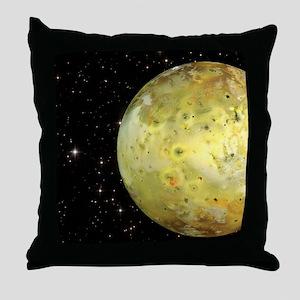 queen duvet Throw Pillow
