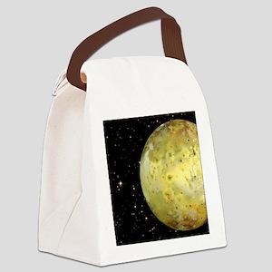 queen duvet Canvas Lunch Bag