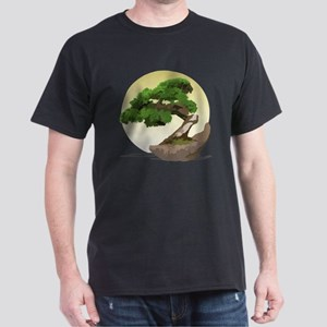 Bonsai Zen tree Dark T-Shirt