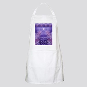 lavender mermaid shower curtain Apron