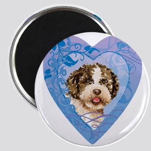 lagotto-heart Magnet