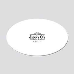 Jenny Os 20x12 Oval Wall Decal