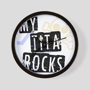 TitaRocks Wall Clock