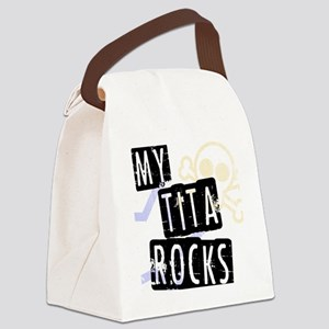 TitaRocks Canvas Lunch Bag