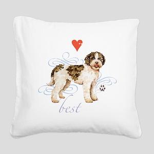 lagotto T1-K Square Canvas Pillow