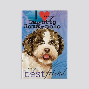 lagotto-card Rectangle Magnet